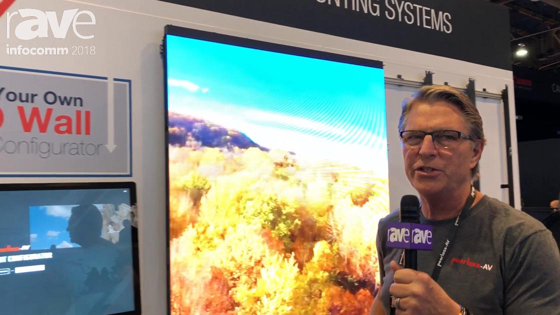 InfoComm 2018: Peerless-AV Exhibits Seamless LED Video Wall Integration