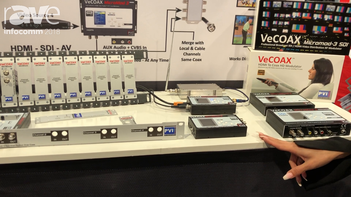 InfoComm 2018: Pro Video Instruments Talks About VECOAX HDMI Over Coax Distribution
