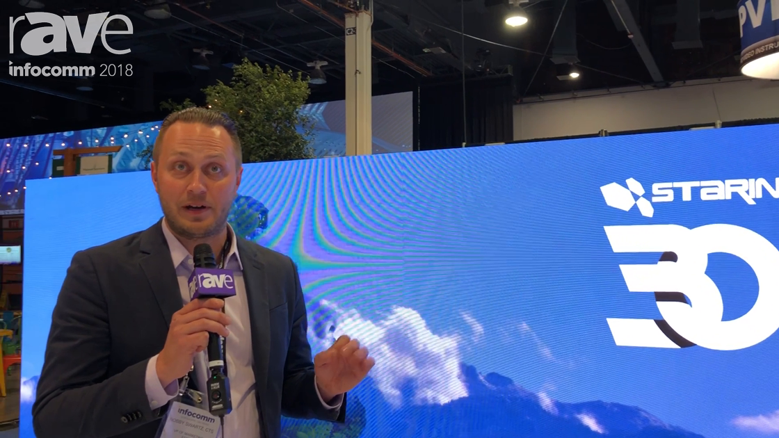 InfoComm 2018: Starin Exhibits Neoti LED Wall and Talks About Service Offerings