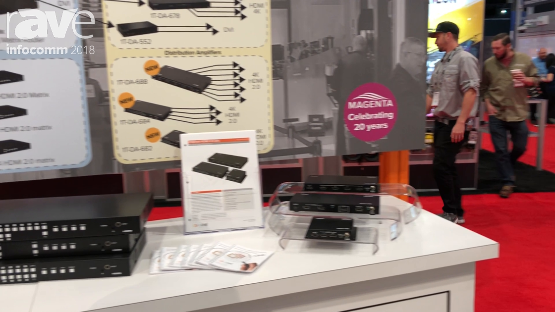 InfoComm 2018: tvONE Discusses Magenta Products for Switching, Distributing and Routing Signals