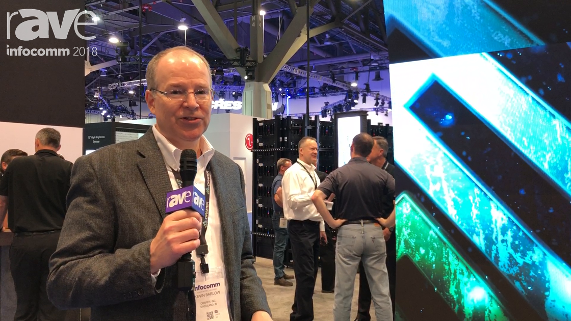 InfoComm 2018: Draper Exhibits Curved Video Wall in Partnership with Absen