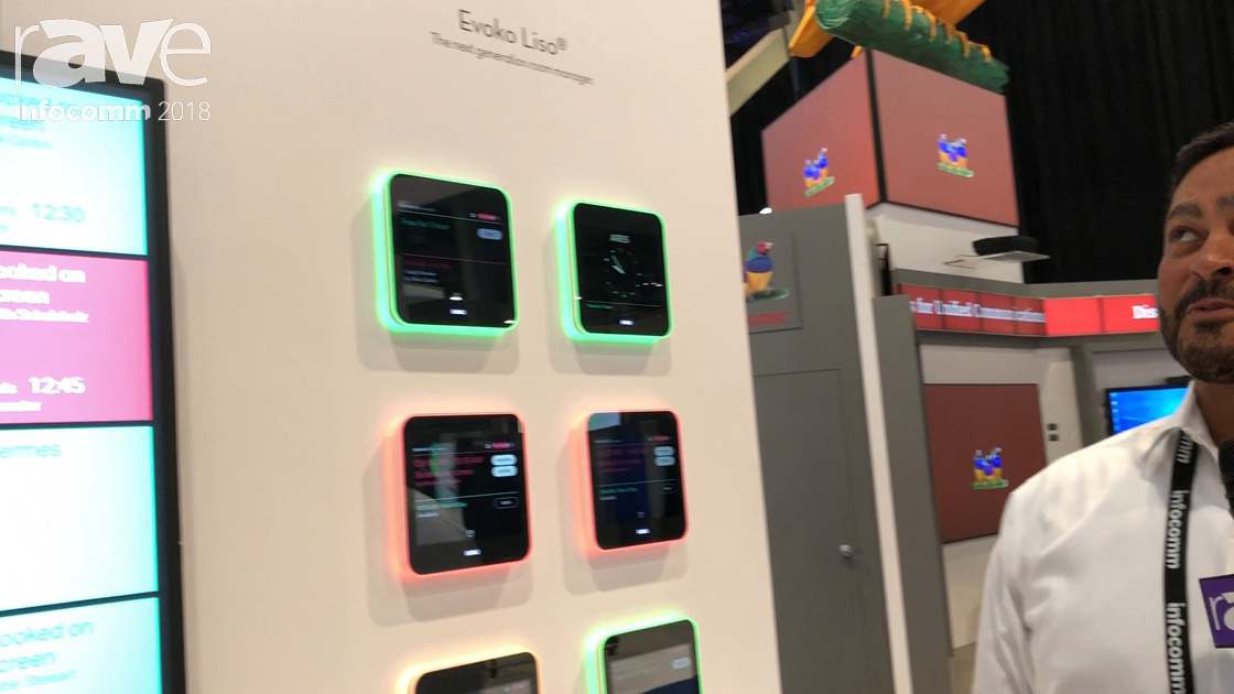 InfoComm 2018: Evoko/SMS Showcases Liso Room Management System