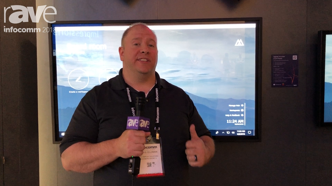InfoComm 2018: NEC Display Debuts Mosaic Canvas Software Solution for Digital Signage