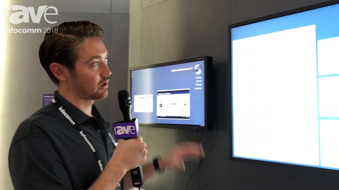 InfoComm 2018: NEC Display Demos NaViSet Administrator 2 Software