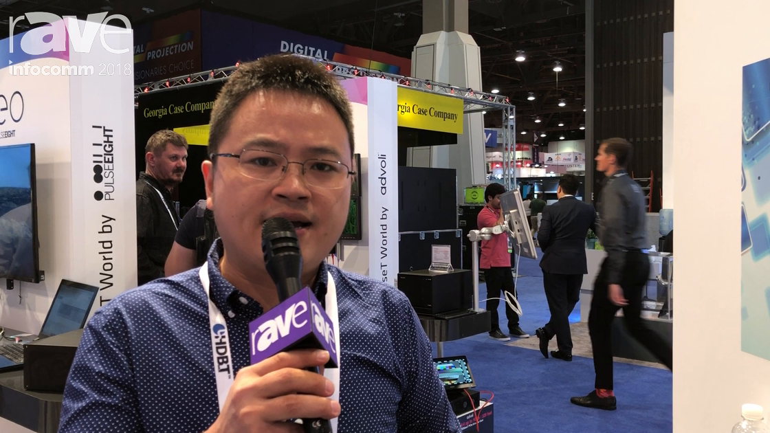 InfoComm 2018: Vtrix Shows PS0802 HDMI2.0 Presentation Scaler and VM4K88H HDMI2.0 Seamless Switching