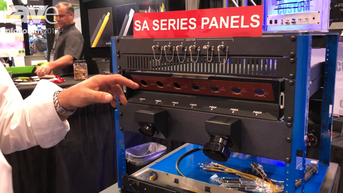 InfoComm 2018: RCI Custom Shows SA Series Panels and Fiber Connector Drawer with Easy Access Lid