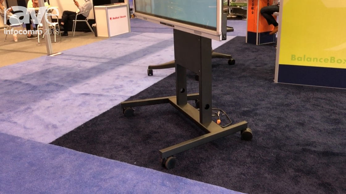 InfoComm 2018: BalanceBox Presents BalanceBox 400 Mounting Solution for Interactive Displays