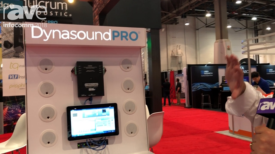 InfoComm 2018: Cambridge Sound Management Exhibits Dynasound Pro Line of Speakers