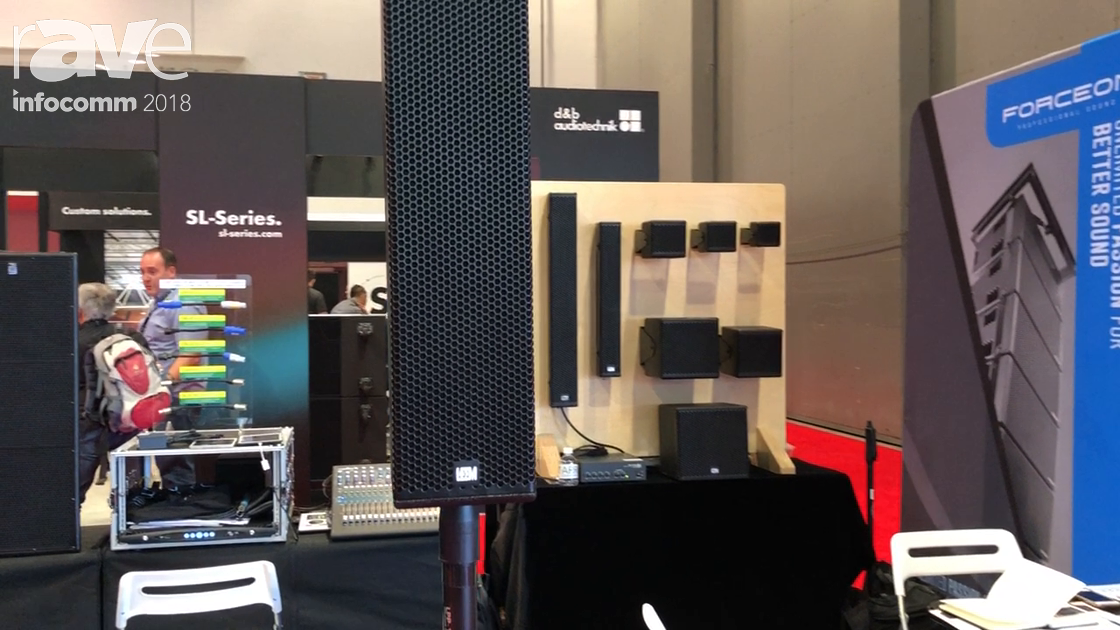 InfoComm 2018: LEEM Presents K5 Portable Column Line Array Speaker