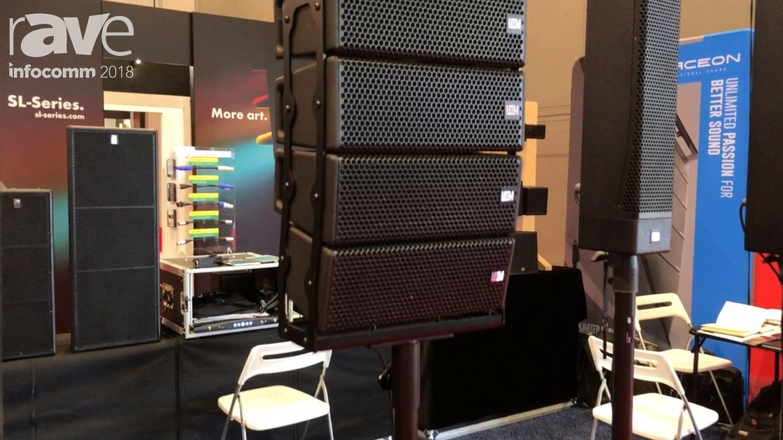 InfoComm 2018: LEEM Presents L28 Portable Line Array Speaker System