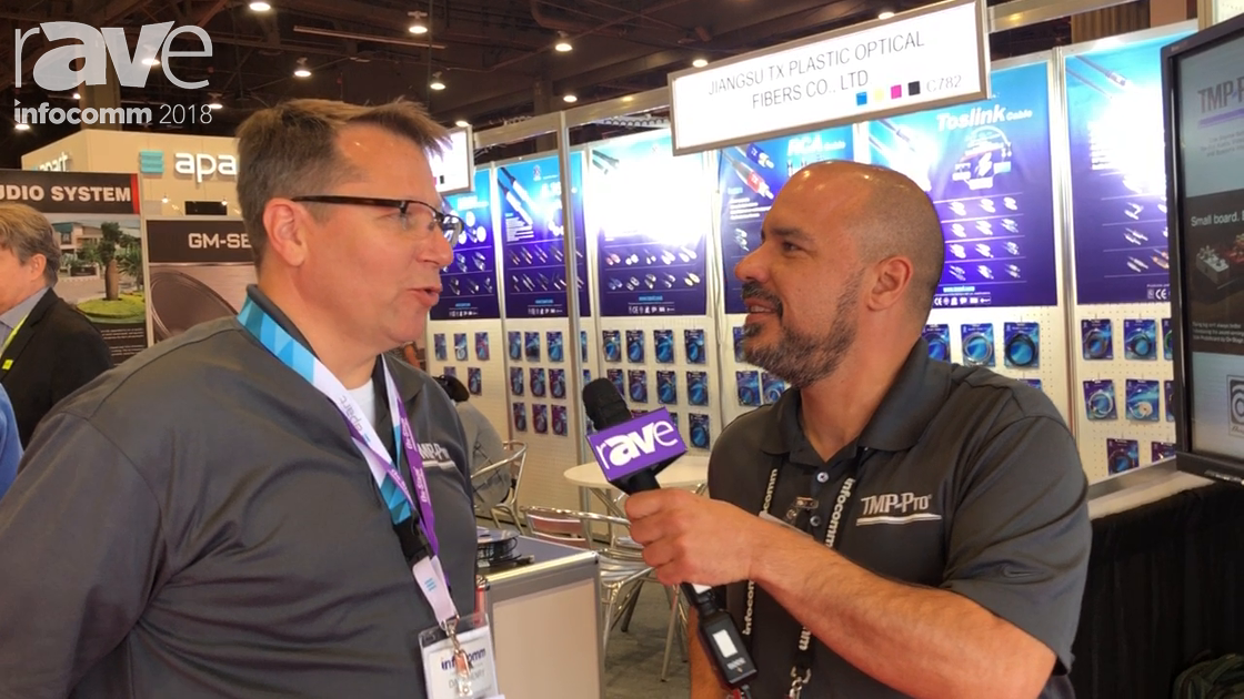 InfoComm 2018: TMP Pro Talks About Distribution Services for the Audio Vertical of the Industry