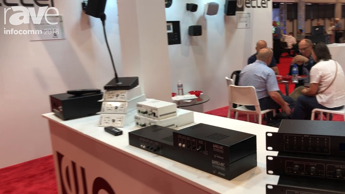 InfoComm 2018: ecler Debuts eCA120DN Audio Amplifier with Dante