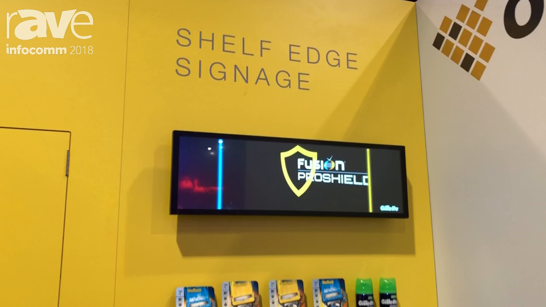 InfoComm 2018: ONELAN Unveils the Shelf Edge Signage for Retail Digital Signage Applications