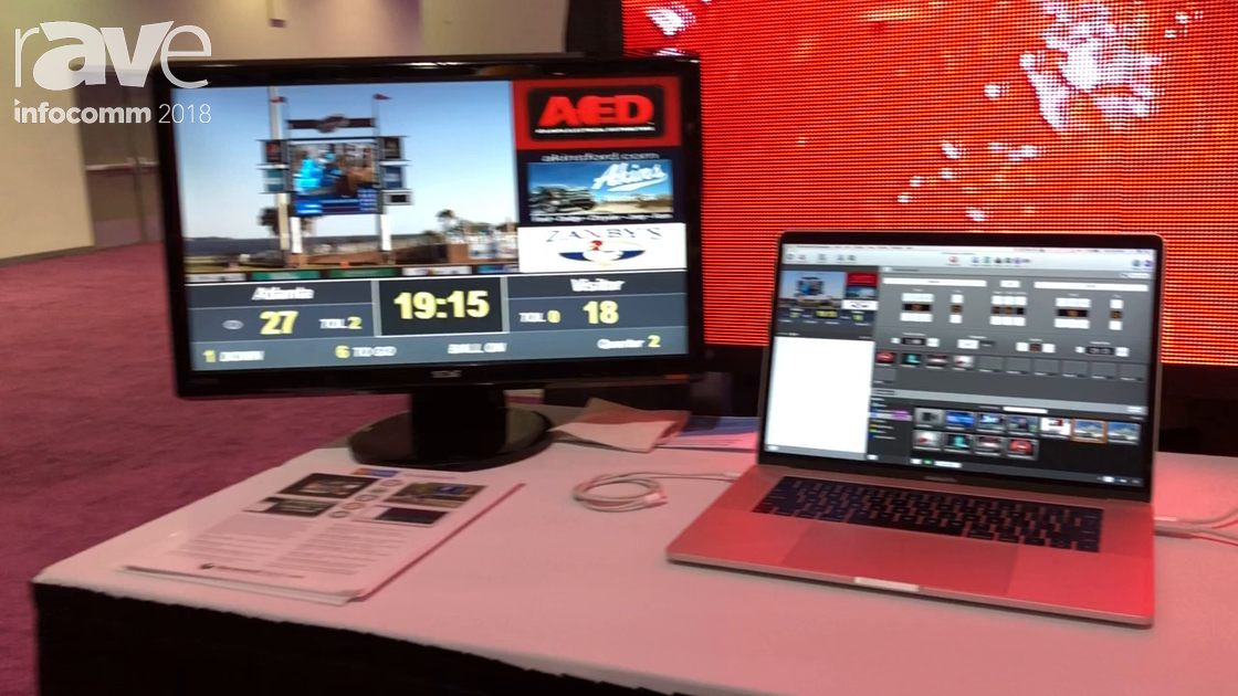 InfoComm 2018: RenewedVision Demos Its ProPresenter Scoreboard Software
