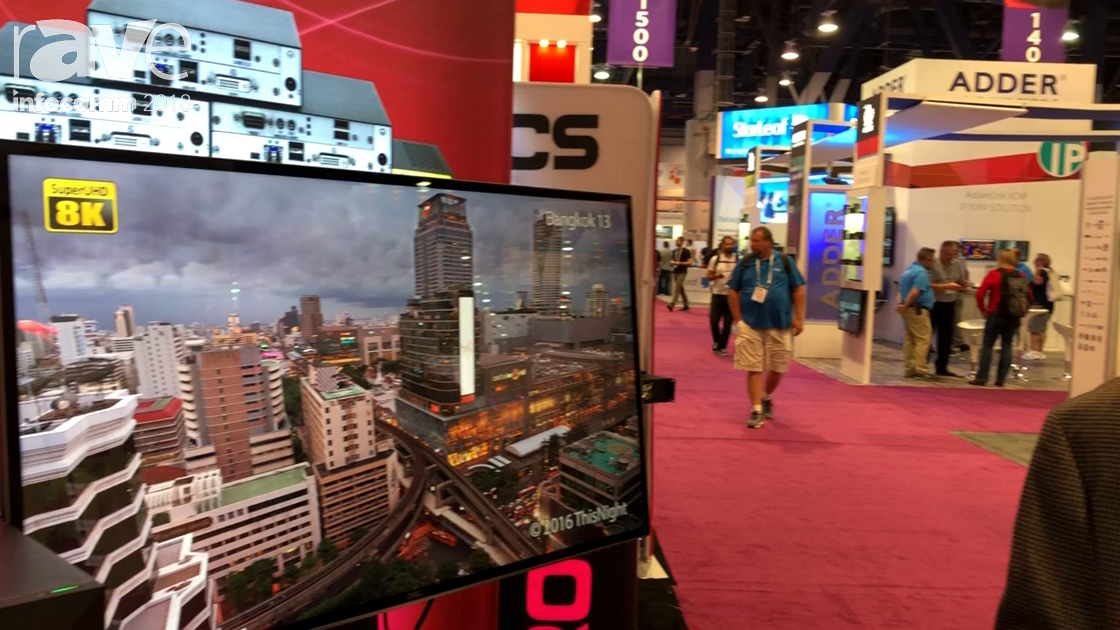 InfoComm 2018: Rose Electronics Shows 8K Over DisplayPort Using CrystalView AOC Cables