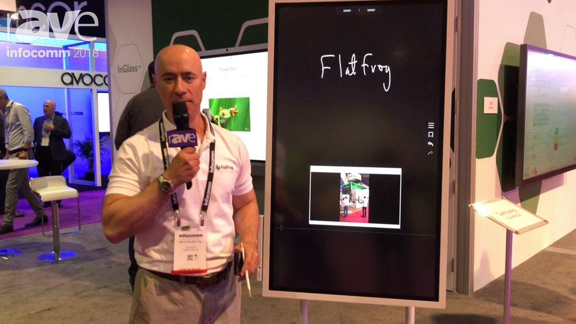 InfoComm 2018: FlatFrog Presents Samsung Flip WM55H with InGlass Technology