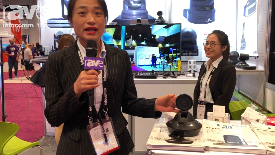 InfoComm 2018: Kato Vision Showcases 4K KT HD 90 PTZ Camera with USB Interface