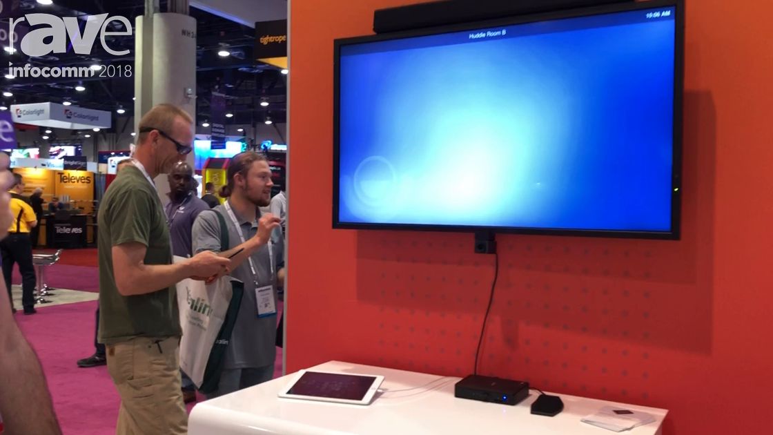 InfoComm 2018: LifeSize Shows Lifesize Dash Software-Based Small Meeting Room Collaboration Solution