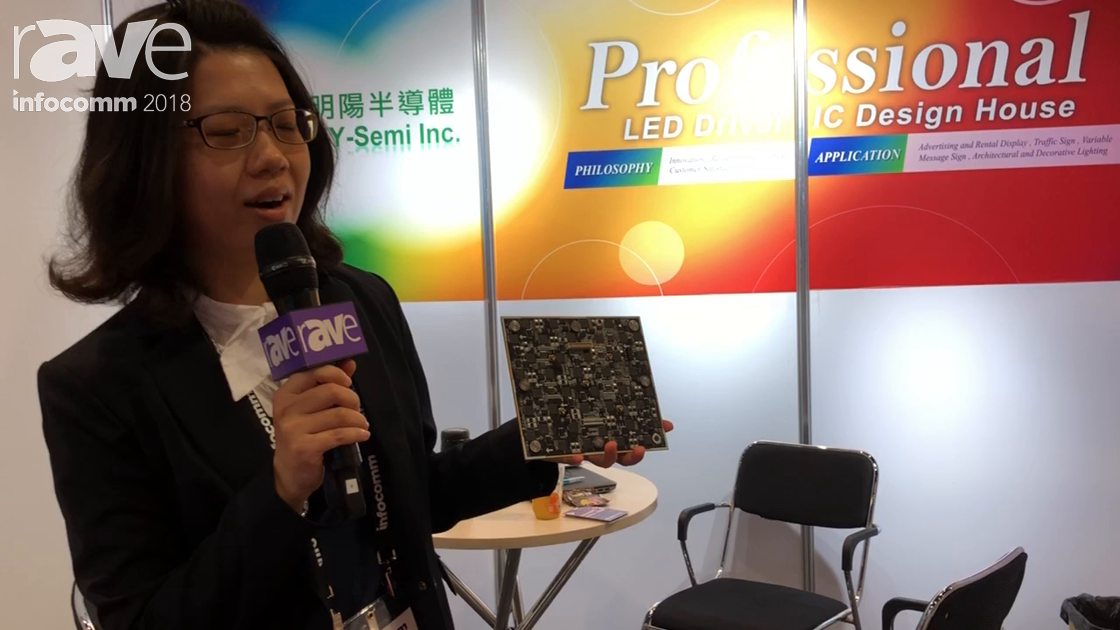 InfoComm 2018: MY-Semi Introduces Driver IC Chip for Lighting and Display Solutions