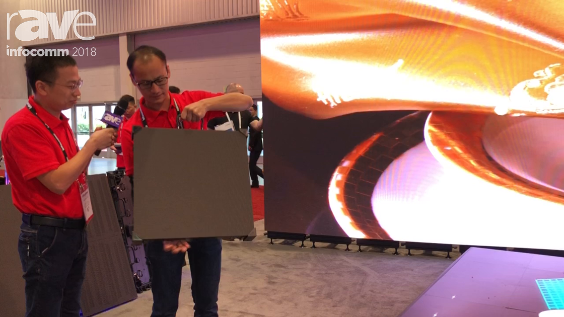 InfoComm 2018: Shenzhen Gloshine Technology Demos MV2.9 LED Panel