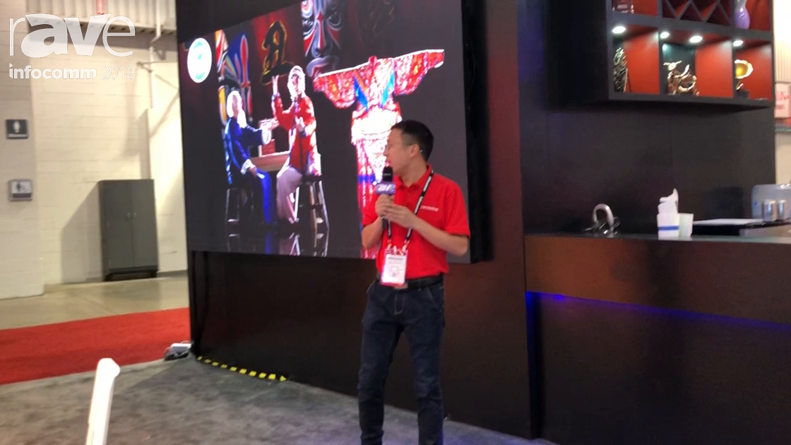 InfoComm 2018: Shenzhen Gloshine Technology Presents X 1.9 Indoor LED for Control Room Applications