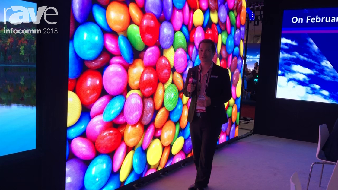 InfoComm 2018: Shenzhen Liantronics Presents RE 2S Indoor LED Display