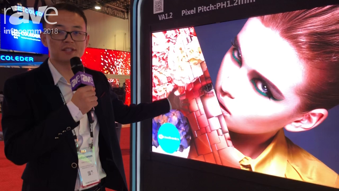 InfoComm 2018: Shenzhen Liantronics Shows VA Series 1.2 Fine Pitch LED Display