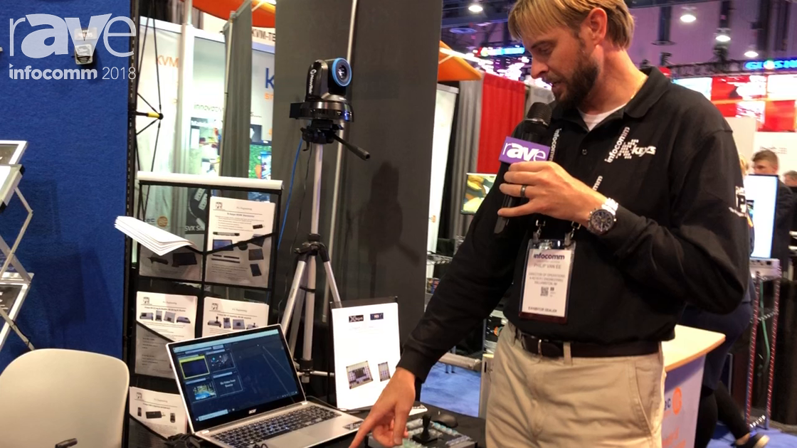 InfoComm 2018: X-Keys Demos NDI Controllers for NDI Cameras with Available Preset Options