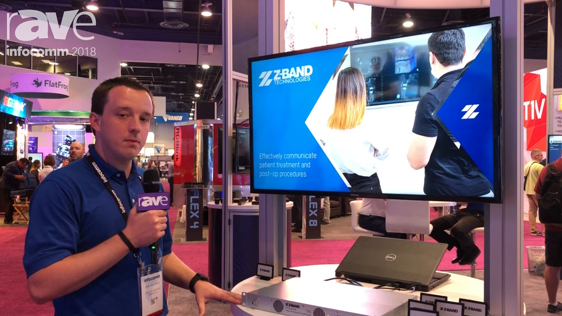 InfoComm 2018: Z-BAND Presents Z-IP Stream 008 Eight-Input HD Digital Encoder Modulator