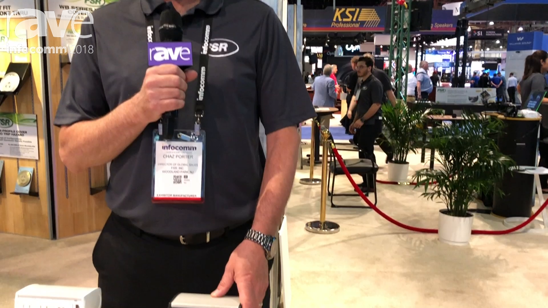 InfoComm 2018: FSR Features New-Look Table Boxes for Table-Top Connections