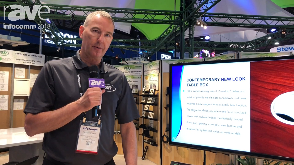 InfoComm 2018: FSR Talks About Huddle VU Collaboration Bundles with Tabled Cabling & Switcher