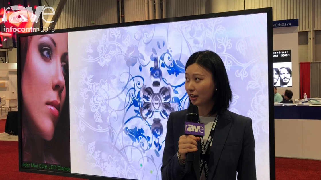 InfoComm 2018: Cedar Electronics Talks About COB Technology For LED Displays