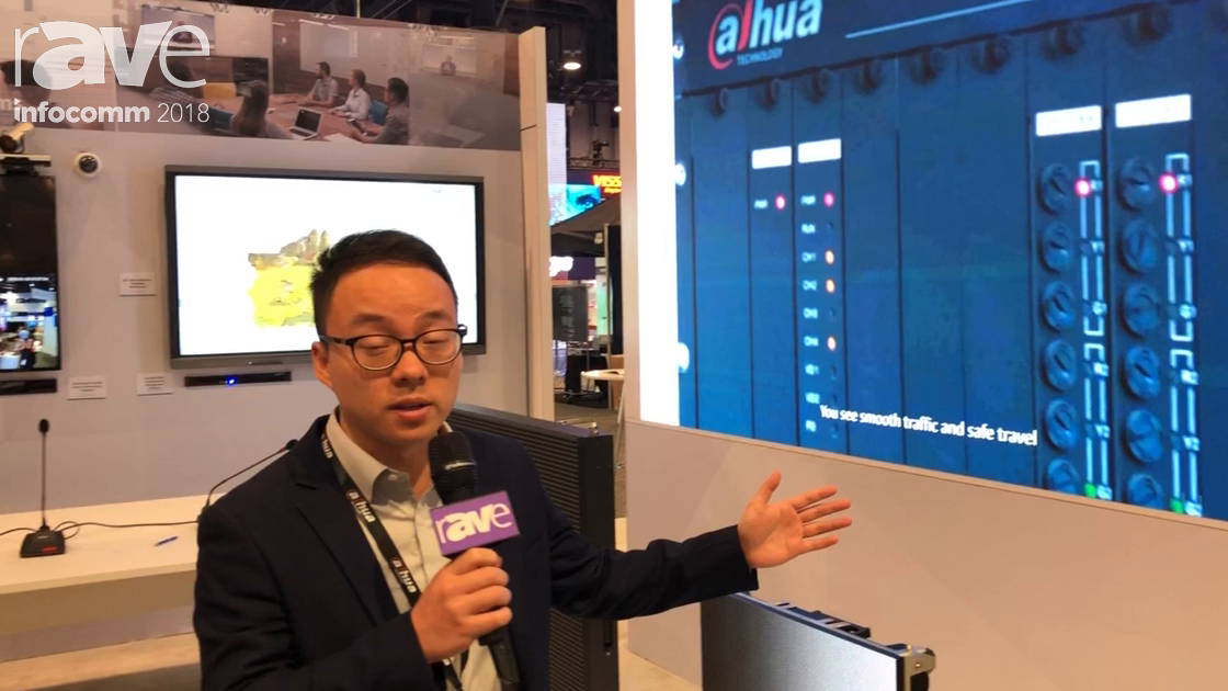 InfoComm 2018: Dahua Technology Explains HDH22-LA1200C 22″ Public View Monitor With Built In Camera