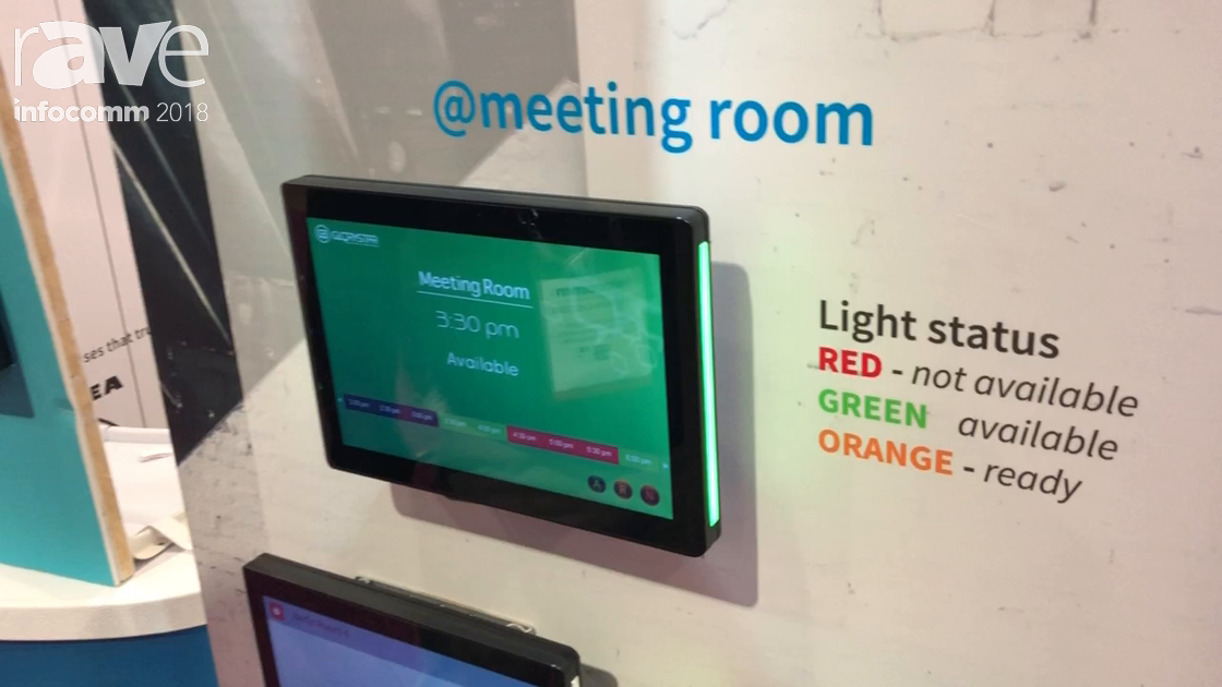 InfoComm 2018: Glory Star Group Exhibits Meeting Room Tablet and Booking System