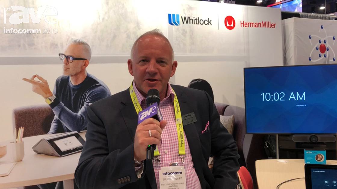 InfoComm 2018: Julian Phillips of Whitlock Talks The Living Office, Partnership With Herman Miller