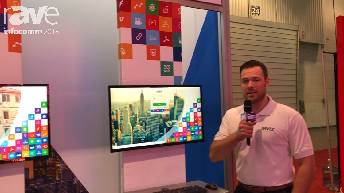 InfoComm 2018: Mvix Talks About Web Based Content Management System for Digital Signage