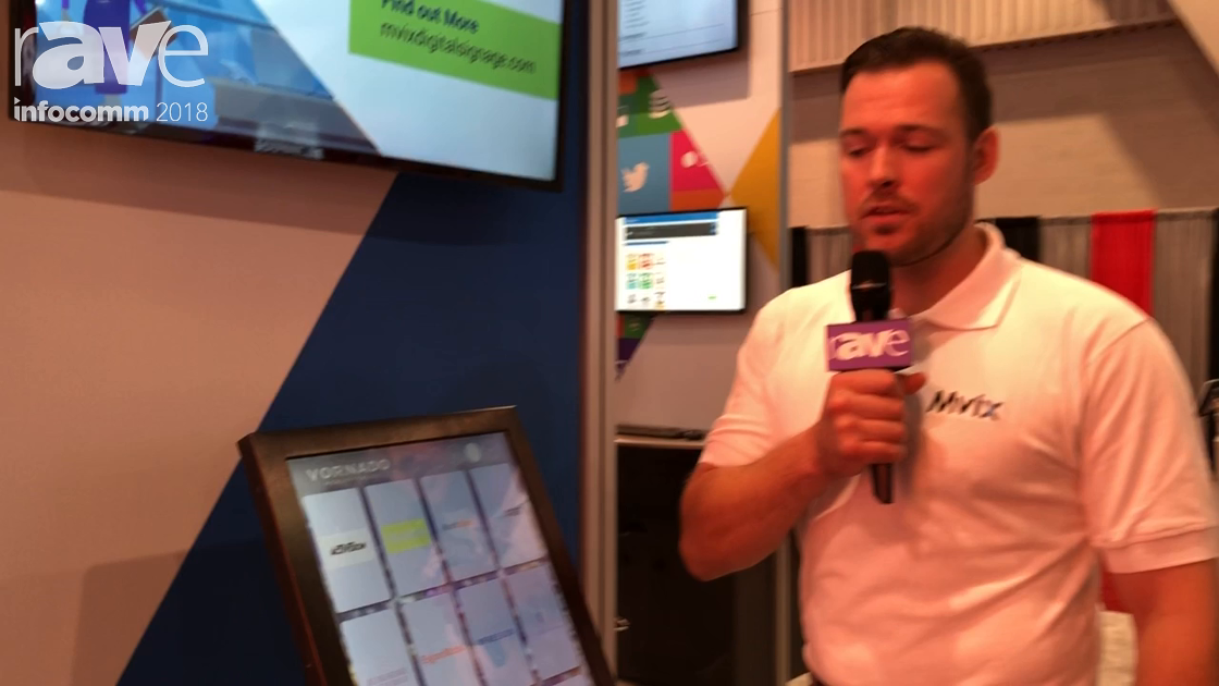 InfoComm 2018: Mvix Talks Touchscreen Directory Solution for DS And Wayfinding
