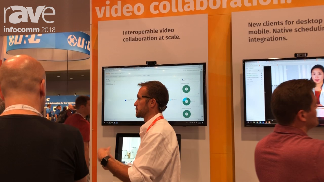 InfoComm 2018: Pexip Demos Infinity Platform Virtualized Conferencing Solution