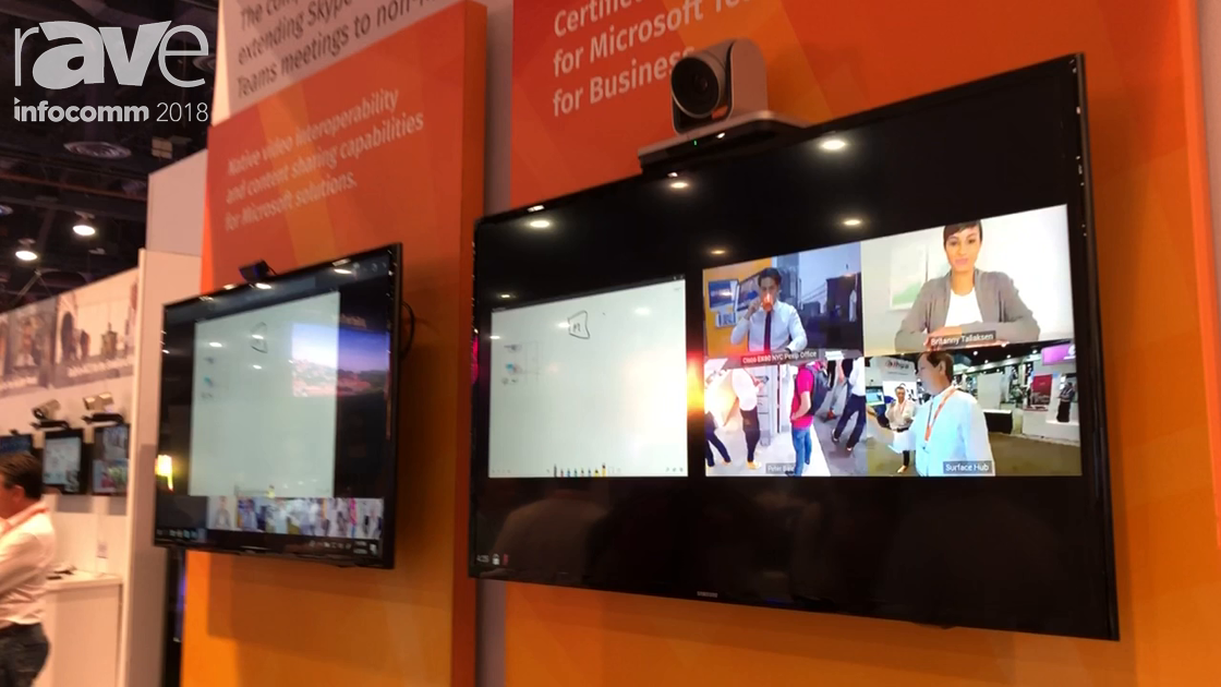 InfoComm 2018: Pexip Shows Off Integration With Third Party Video Conferencing Systems