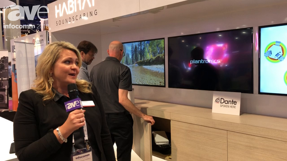 InfoComm 2018: Plantronics Showcases Habitat Soundscaping VR Demo