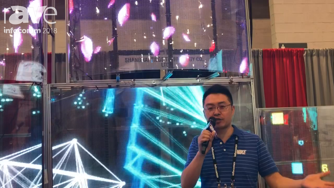 InfoComm 2018: Shanghai TIEGE Technology Demos Transparent LED for Windows