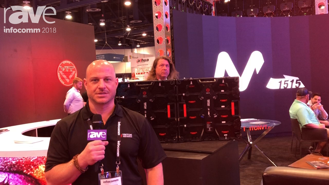 InfoComm 2018: Triton Visual Technology Talks About MA 2.6 LED Tile