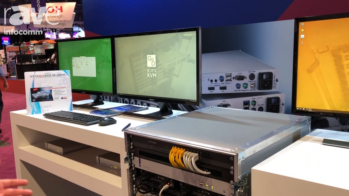 InfoComm 2018: G&D North America Shows 4K-Capable KVM Transmitters, Receivers and Matrix Switchers