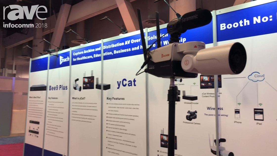 InfoComm 2018: Reach Demos yCat Wireless Streaming Camera and yCat Streaming/Recording System
