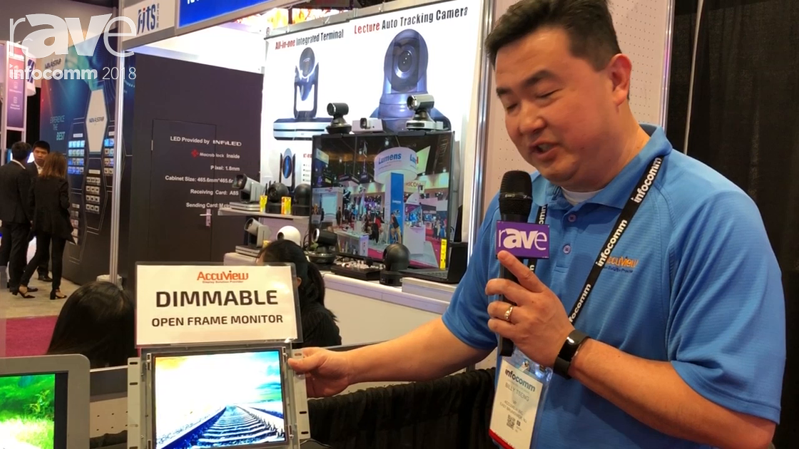 InfoComm 2018: Accuview Demos Manual Dimming LCD Monitor