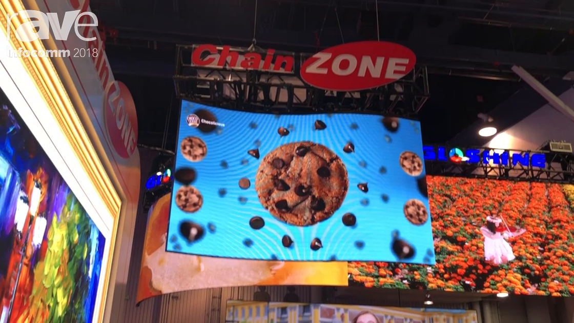 InfoComm 2018: Chainzone Technology Features IMPOSA Vision Outdoor LED Display
