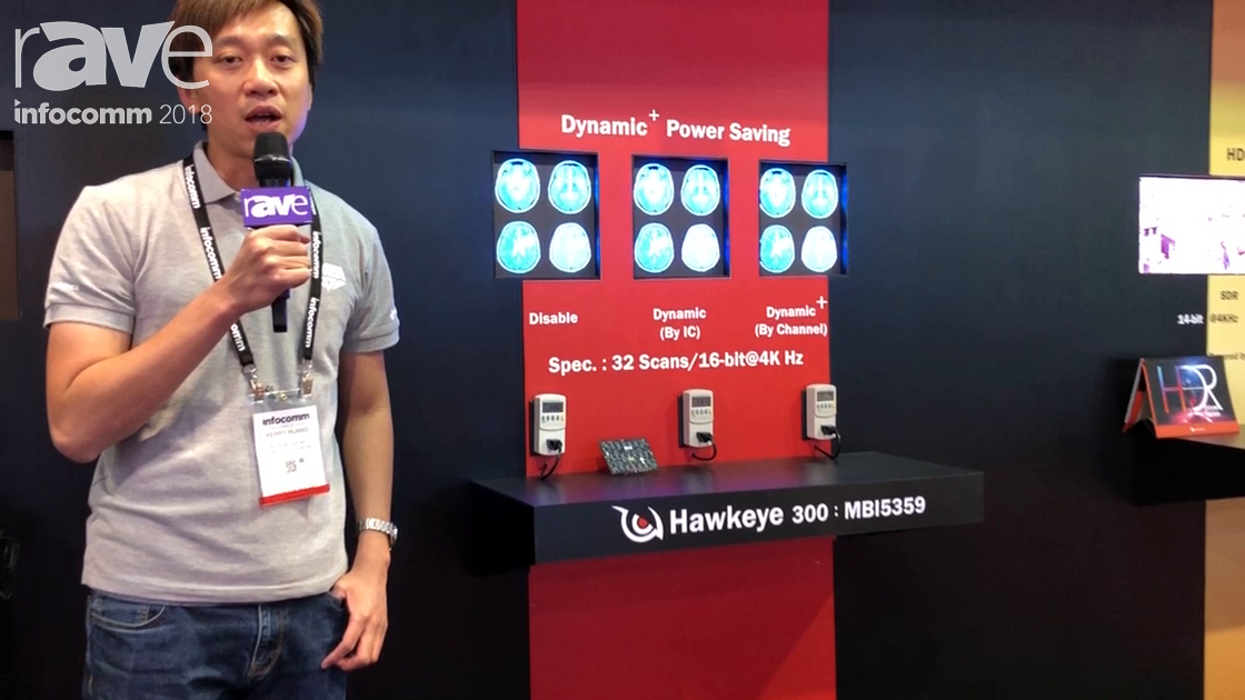InfoComm 2018: Macroblock Demos Dynamic + Power Saving Function of LED Driver IC MBI5359