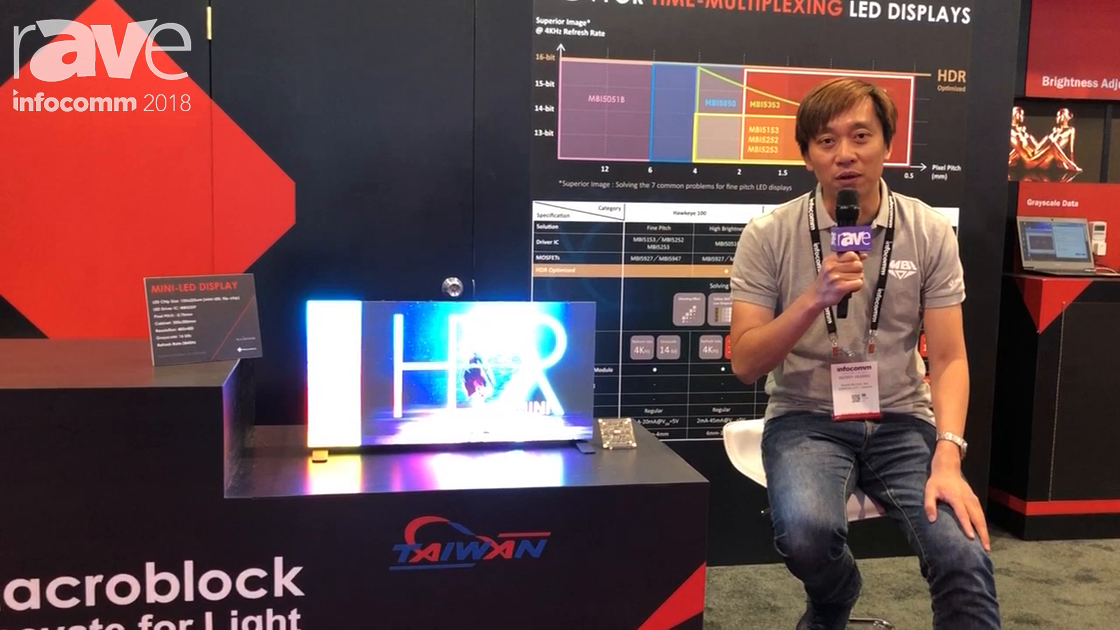 InfoComm 2018: Macroblock Features 0.75mm Mini-LED Display