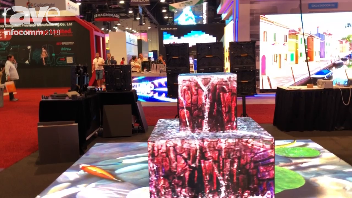InfoComm 2018: Shenzhen Uniview Introduces Interactive LED Dance Floor and LED Module