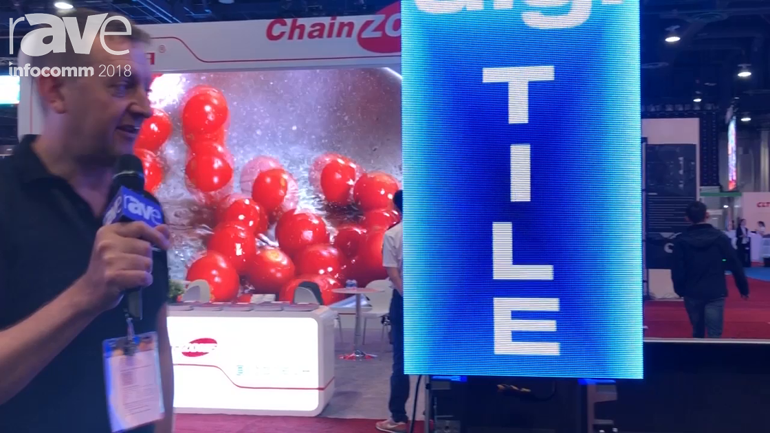 InfoComm 2018: digiLED Introduces digi TILE LED Rental Frame